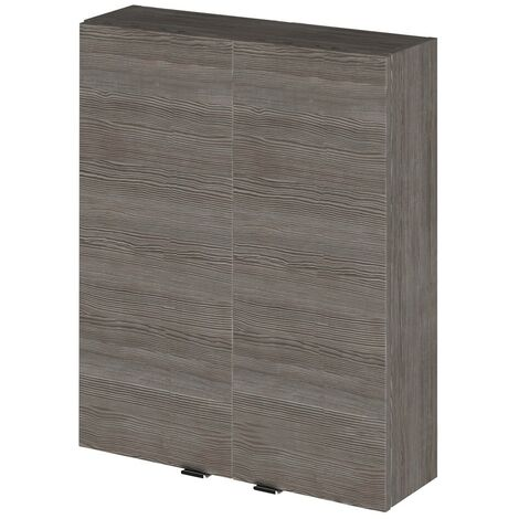 Monte Carlo Grey Avola 500mm 2 Door Wall Unit (180mm Deep)