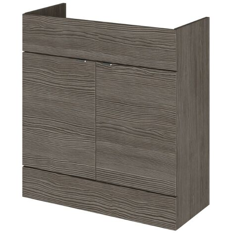 Monte Carlo Grey Avola 800mm Basin Unit (355mm Deep)