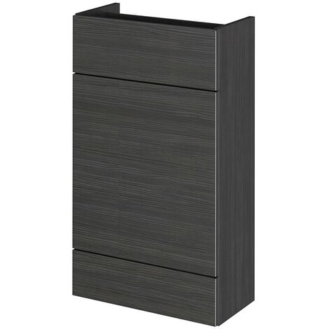 Monte Carlo Hacienda Black 500mm WC Unit (255mm Deep)