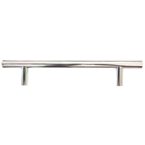 Monte Carlo Stainless Steel T-Bar Furniture Handle (128mm Centres)