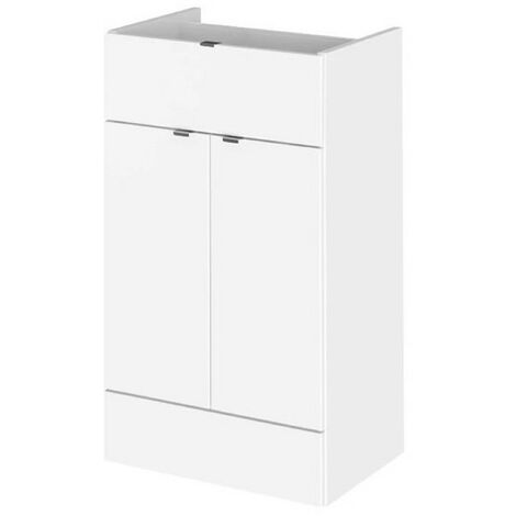 Monte Carlo White Gloss 500mm Drawer Line Base Unit (355mm Deep)