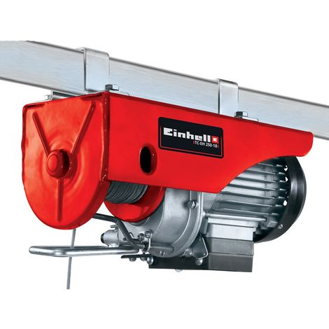 Monte-charge électrique Einhell TC-EH 250-18 pour balcon