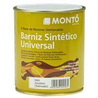 Monto pinturas Barniz sintetico satinado Incoloro 125 ml