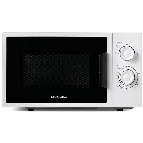 Montpellier MMW21W 20L Microwave White 700W