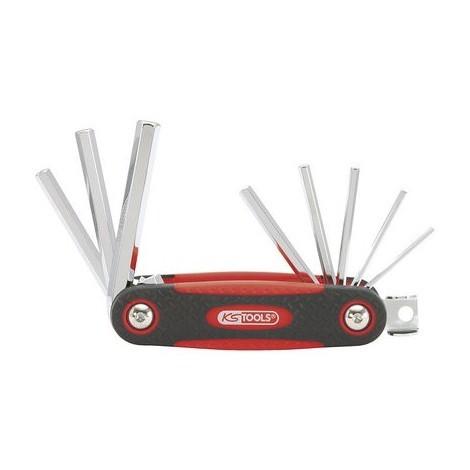 Monture de 8 clés mâles 6 pans Ks tools