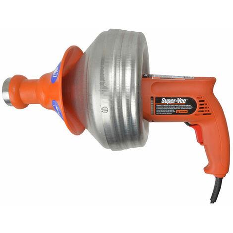 Monument Drain SV-F-240 SV-F Super-Vee Power Drain Cleaner 240 Volt