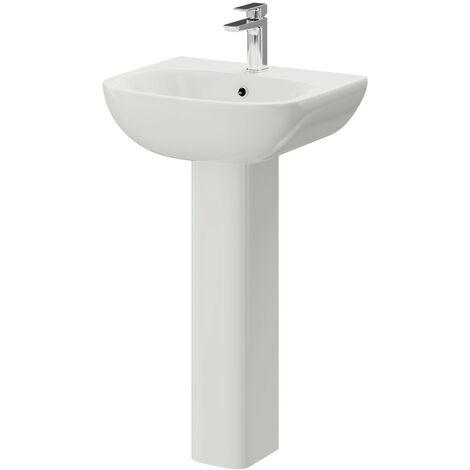 Monza 550mm Basin & Pedestal