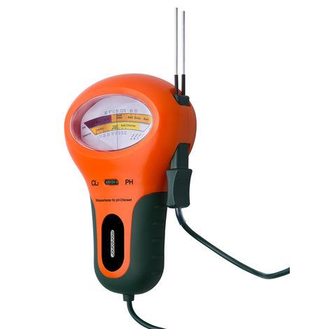 Monzana 2.1 Water Tester pH value Chlorine Testing Device