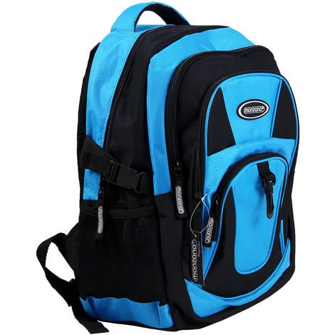 Monzana® 34L Backpack Daypack 15 Inch Laptop Compartment✔ Outdoor Sports Gym Work Travel✔ IATA Compliant✔ Hand Luggage✔ Lightweight✔ Durable✔ Multifunctional✔ Padded✔ Colour Choice