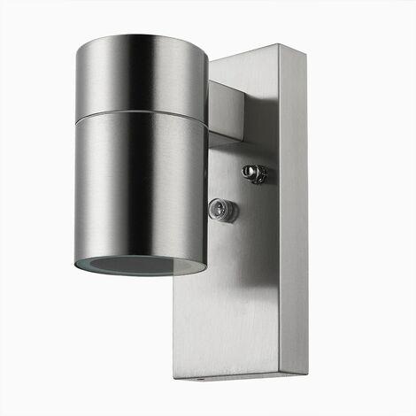 """Monzana Aplique luz de pared """"Lilac"""" de acero inoxidable - modelo y medidas a elegir"""