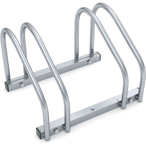 Monzana Bike Stand Parking Rack for 2-6 Bikes 35-60mm Tyre Width Outdoor