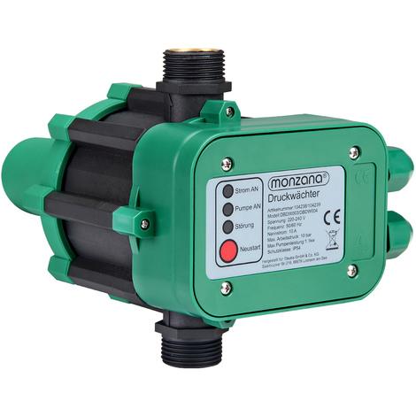 Pumpensteuerung Druckschalter Druckwächter für Pumpe Gartenpumpe Hauswasserwerk