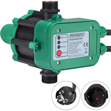Monzana Interruptor de presión de agua sin cable 10 Bar