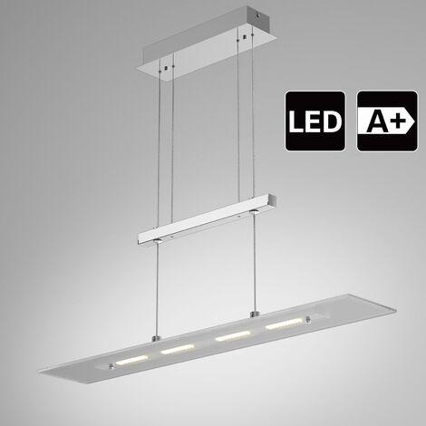 """main image of """"Monzana Lámpara LED de techo colgante 1600lm 5W en 4 paneles para mesa comedor Blanco cálido 3000K IP20 altura ajustable"""""""
