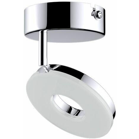 """Monzana Luz de techo plafón """"Violet"""" ocilante a 90° iluminación de interior decoración 4,5 vatios - numéro de focos a escoger"""