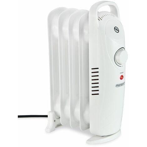 monzana® Radiateur bain d'huile chauffage mobile 500/800/1000 W - 5/7/9 Rainures