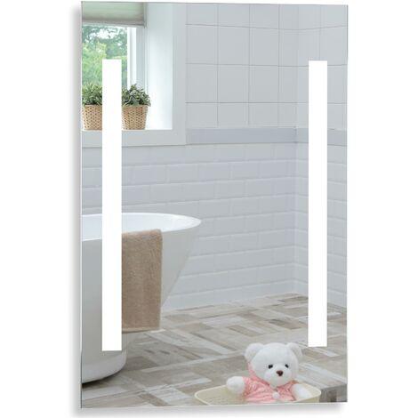 MOOD Illuminated Bathroom Mirror 70cm x 50cm