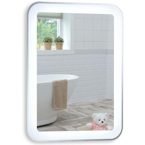 MOOD Illuminated Bathroom Mirror 80 x 60cm