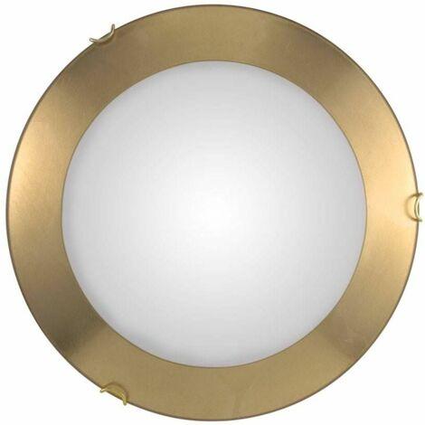 MOON 24K Gold Ceiling Light 2 bulbs