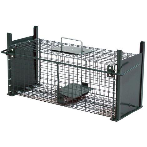 Moorland Safe Trampa para animales vivos Martas, gatos zorros Trampa de alambre