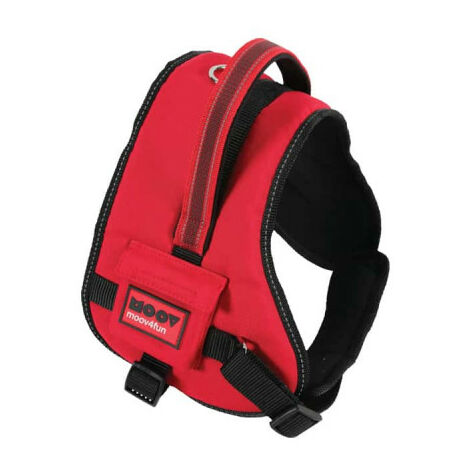 Moov ZOLUX Comfort Harness - M - Red - 466672