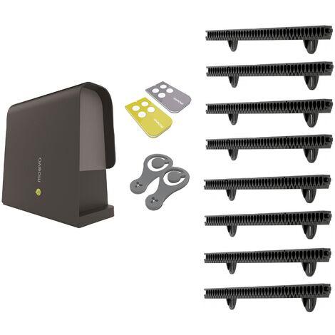 Moovo - Easy kit LN432KM/02 - Kit de Motorisation pour portail coulissant - Noir
