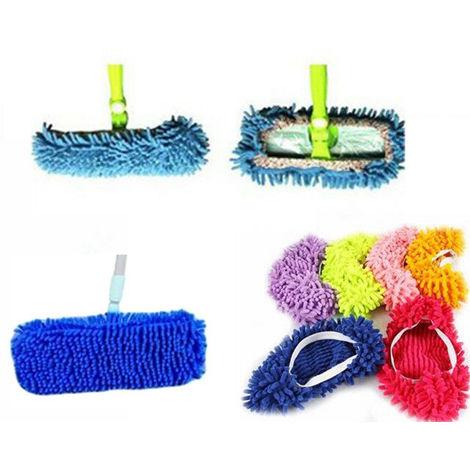 Panno Pavimenti Microfibra.Mop Panno Scopa Cattura Polvere Pulizia Pavimenti Microfibra Casa Vari Colori