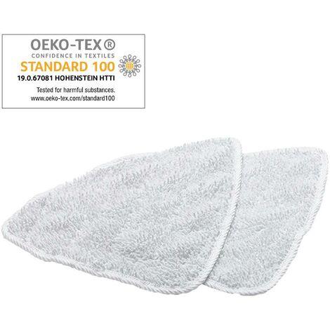 Mops de rechange Vileda 100°C Hot Spray, pour appareil de nettoyage de la vapeur, x2 A410431