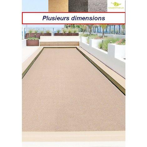 Moquette d'extérieur Beige  dimensions au choix   tapis idéal pour terrasse, piscine, balcon, garage ou salle de jeux etc.