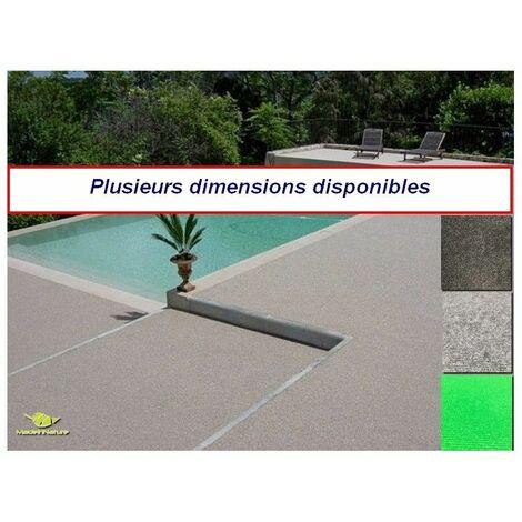 Moquette d'extérieur dimensions et couleurs au choix tapis artificiel malta idéal pour balcon revêtement de sol outdoor - Dimension: 150 x 200 cm - Coloris: Anthracite - Anthracite