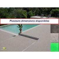 Moquette d'extérieur Gris clair  dimensions au choix   tapis idéal pour terrasse, piscine, balcon, garage ou salle de jeux etc.