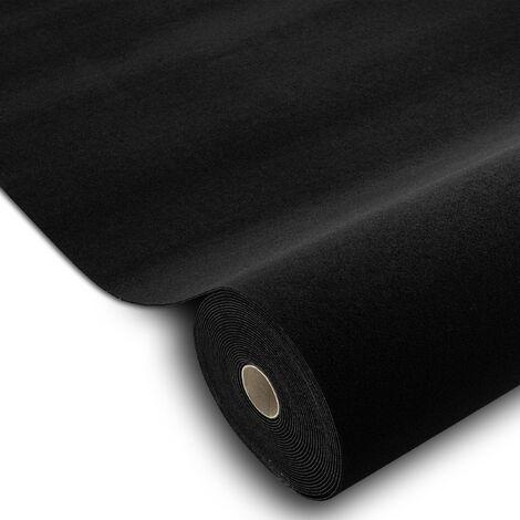 Moquette voiture TRIUMPH 990 noir n'importe quelle taille noir 200x340 cm