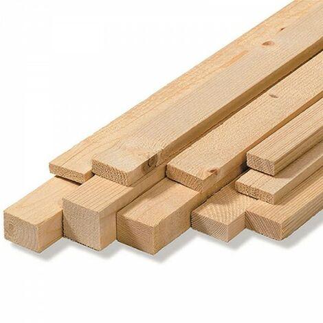 Morale in legno abete austria grezzo da carpenteria 200x4x8 cm