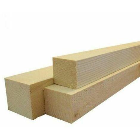"""main image of """"Morale travetto listone in legno di abete massello grezzo 100 x 100 x 2500 mm"""""""