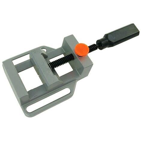 Mordaza Aluminio 60mm | Tornillo de banco para bricolaje y carpinteria | Apertura max 70 mm