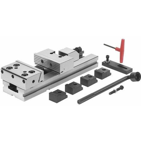 Mordaza de acero de alta precisión 125x40h mm FERVI M028/125/150