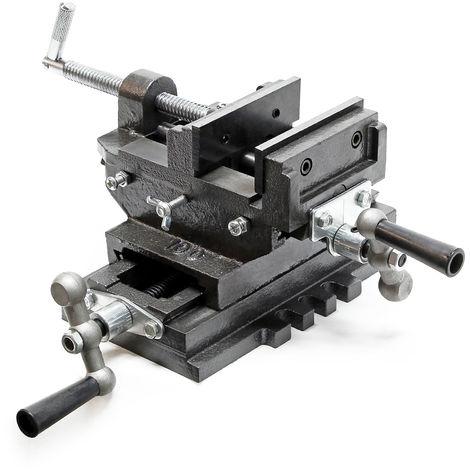 Mordaza de máquina Mordaza de 2 ejes Mesa en cruz Banco de trabajo