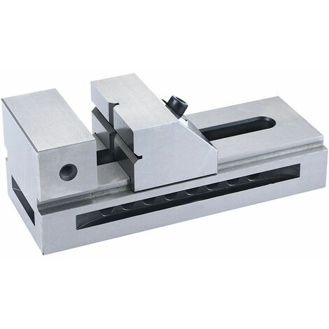 Mordaza de precisión de acero templado y rectificado 100x245x90h mm FERVI M012/100