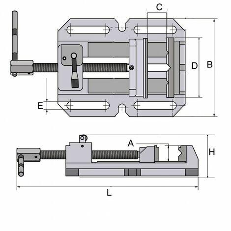 Mordaza industrial BSI-Q