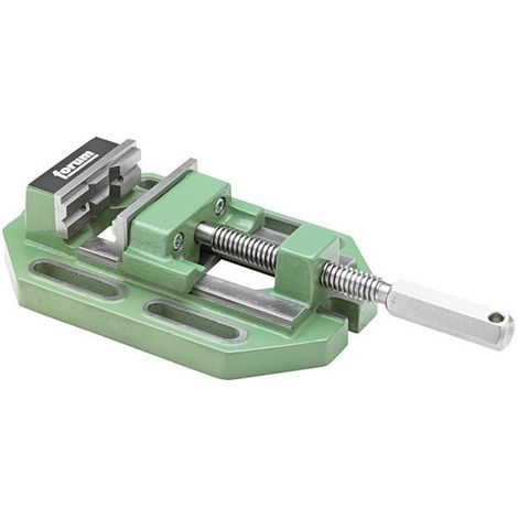 Mordaza para taladro de precisión, Cuerpo de fundición especial, tamaño : 4, 160 mm, capacidad 225 mm, Distancia entre ranuras : 210 mm