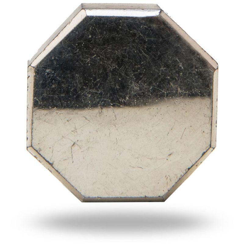 Devanshi Octagonal Mirror Glass Knob
