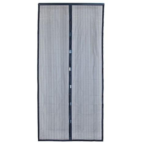 MOREL - Moustiquaire Moustimagnet 100x220 cm - noir