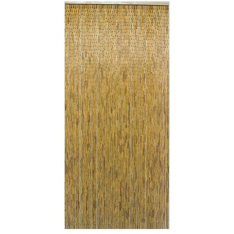 MOREL - Rideau de porte - 90x200 cm - naturel