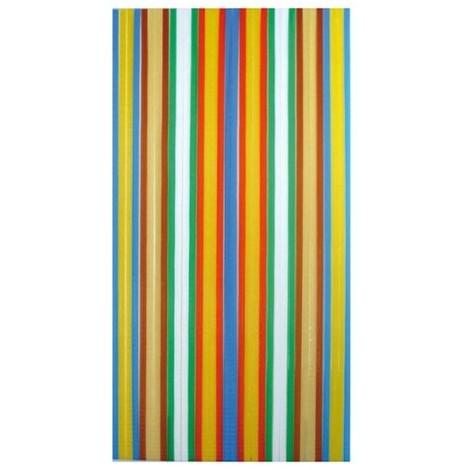 Morel Rideau De Porte Antilles En Polyéthylène 90x200 Cm Multicolore