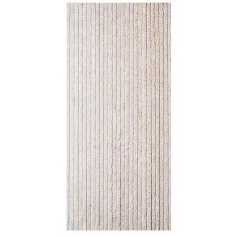 MOREL - Rideau de porte Florence chenilles 90x220 cm - beige
