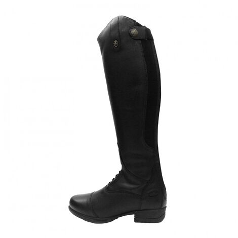 Moretta Childrens/Kids Albina Leather Long Riding Boots
