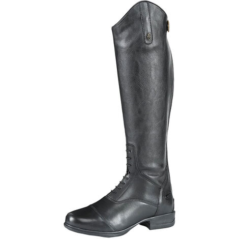 Moretta Womens/Ladies Gianna Leather Long Riding Boots