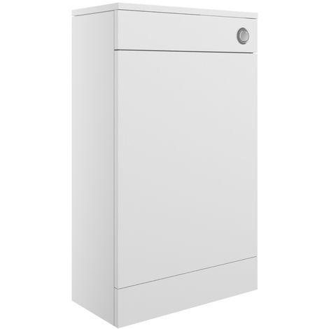 Morina 500mm Floor Standing WC Unit - White Gloss