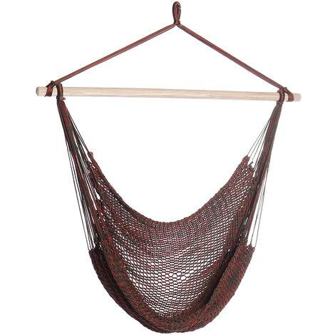 Morocco Nylon Hanging Chair Hammock Swing Garden Outdoor Camping Portable