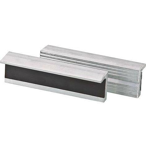 Mors d'etau magnetique en aluminium Epaisseur de la tete 125 mm 1 paire